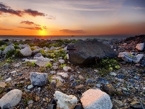 Great Sunsets, Stones, Coast