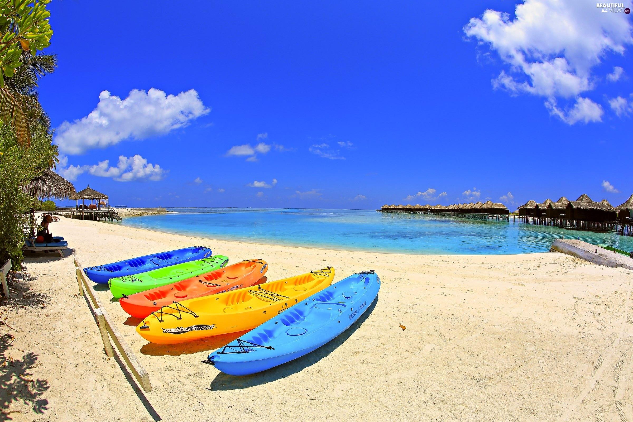 Think, Beautiful ocean views beaches think, that
