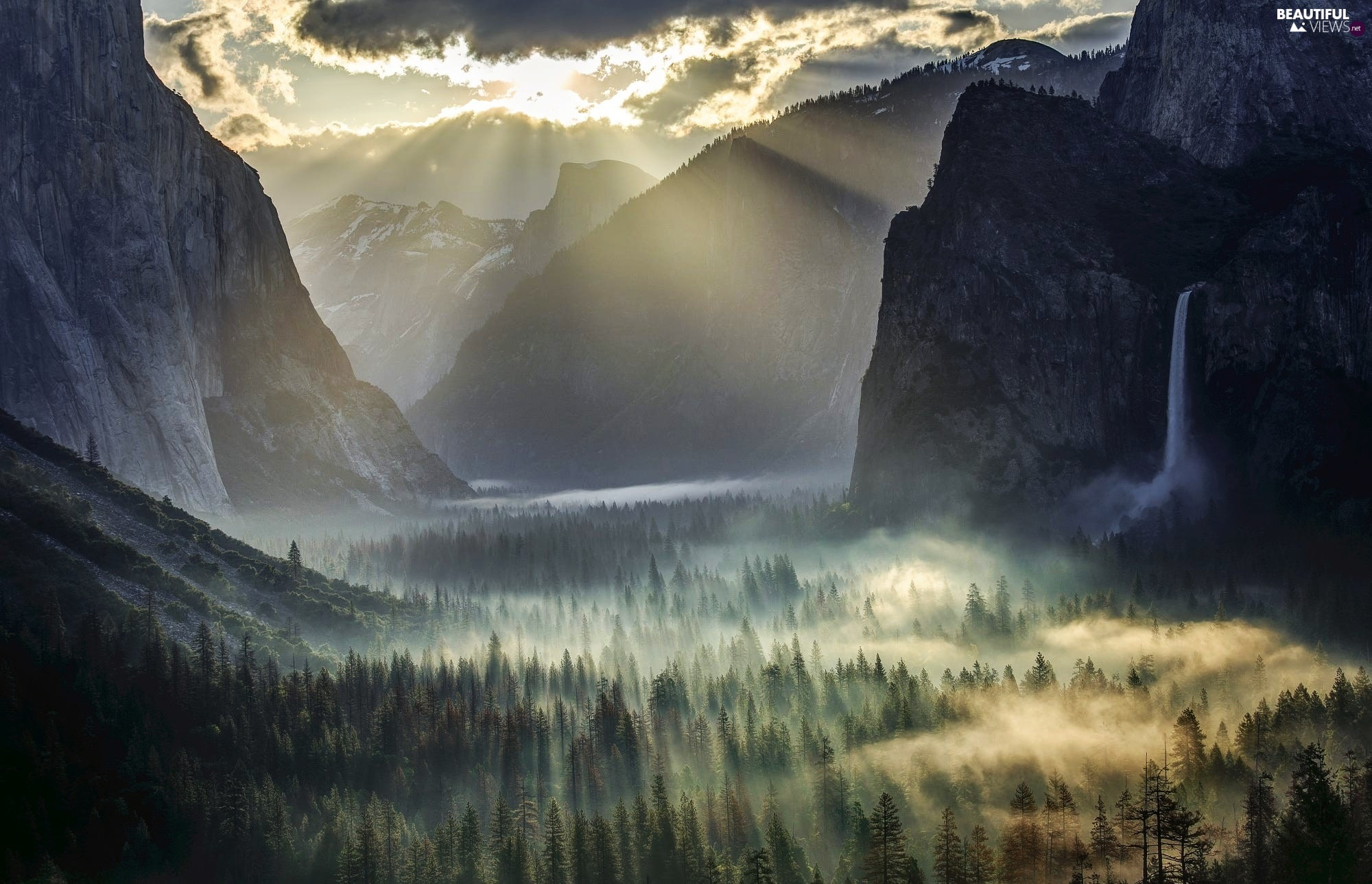 yosemite national park fog - photo #28