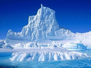 Antarctica, mountains, Ice