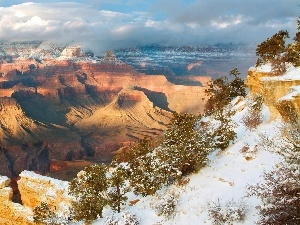 winter, Grand Canyon, Arizona