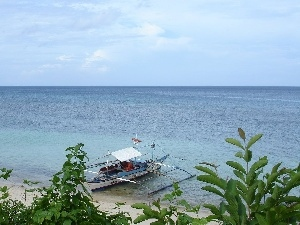 water, Boracay, Islet, Leaf, Philippines, Boat, Sky