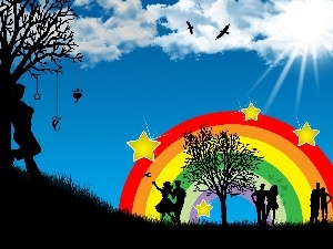 in Love, love, Great Rainbows, ##