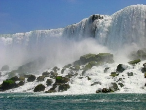 View, waterfall, Niagara Falls