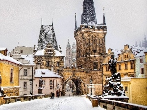 winter, Prague