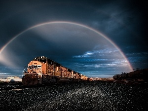 Train, Great Rainbows