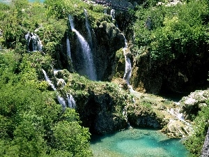 Coartia, national, waterfall, Park