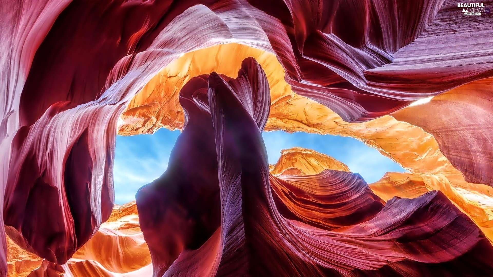 The United States, Antelope Canyon, Interstitial, Arizona