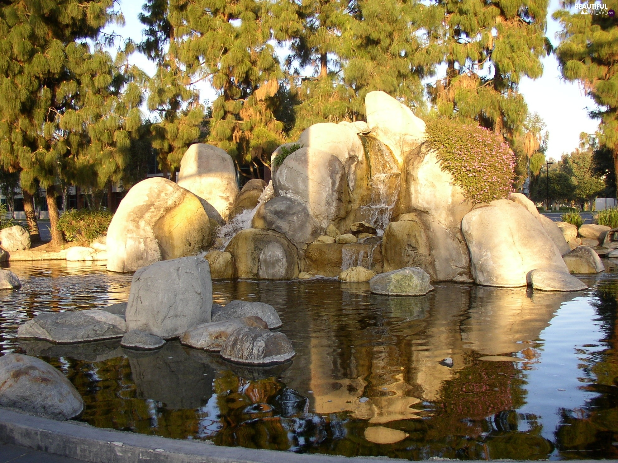 California, fountain, Park