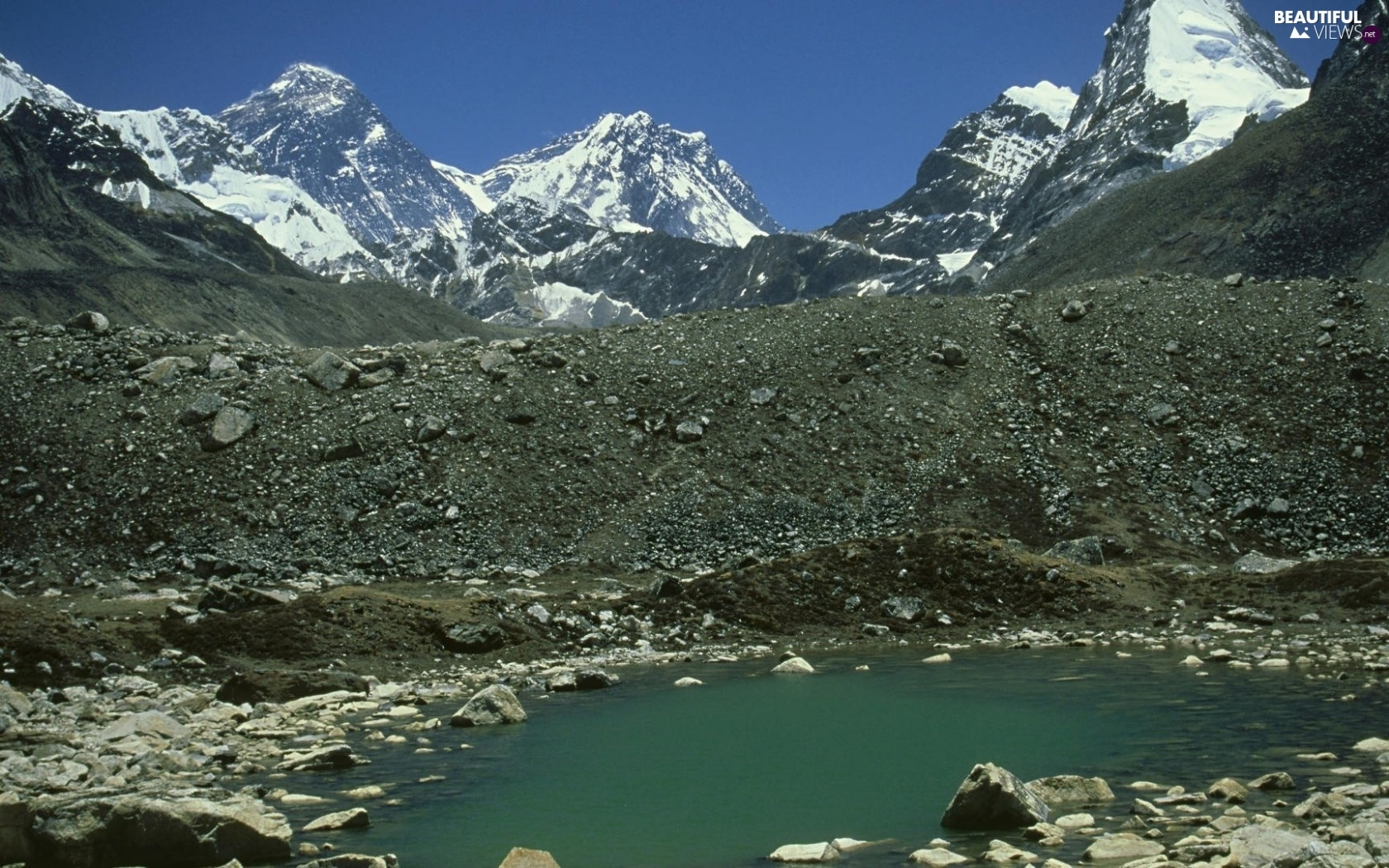 Mount, Everest, Park, Mountains, national, Nepal, China, Sagarmatha