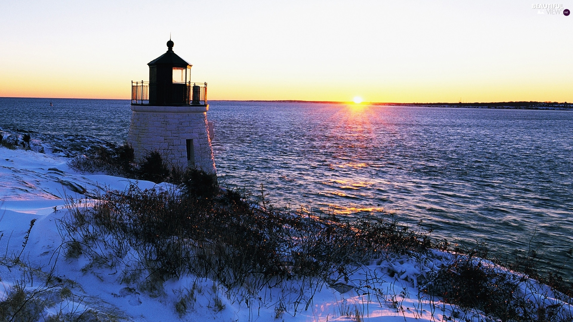 Great Sunsets, Coast, Lighthouses