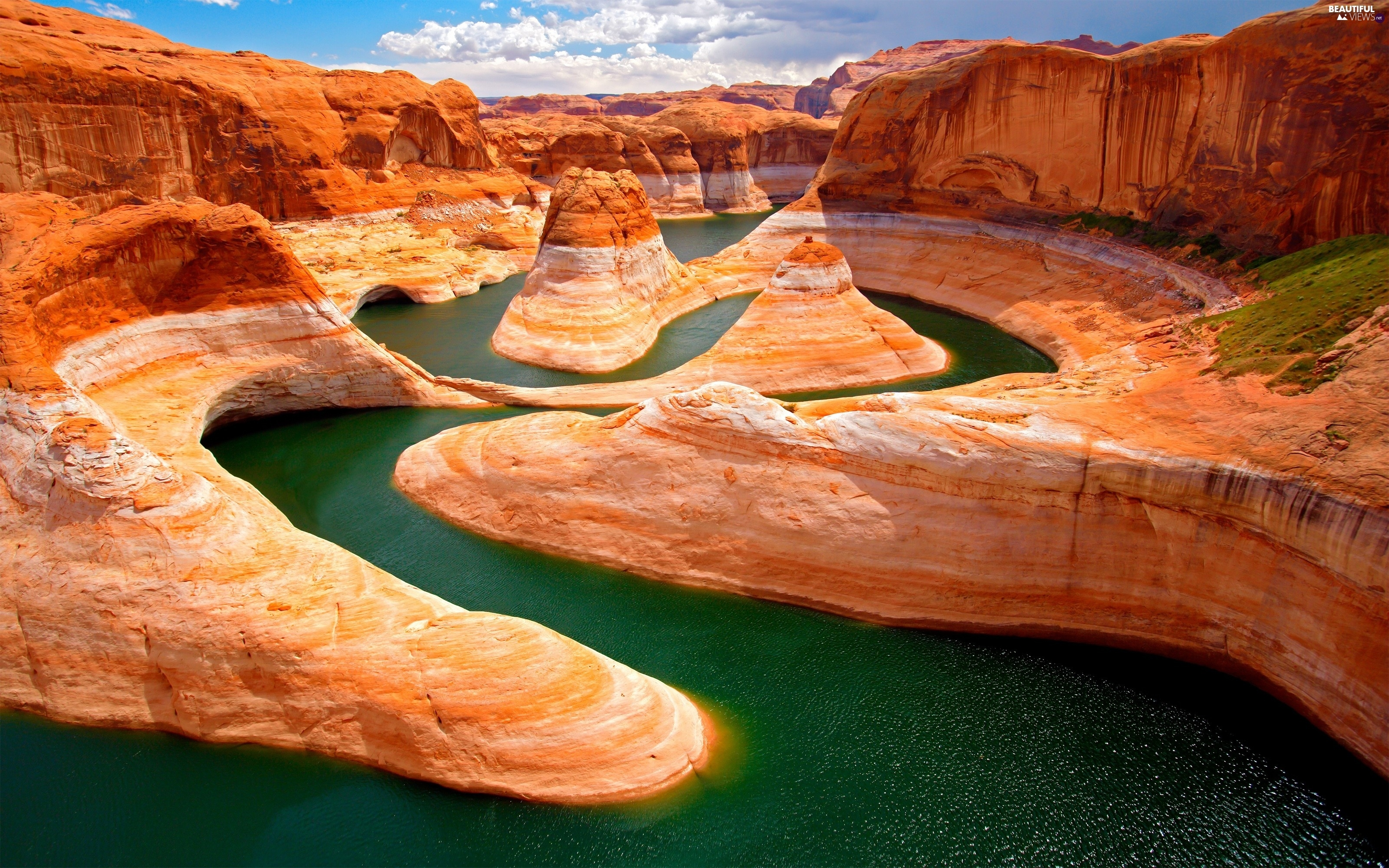 River, large, canyon