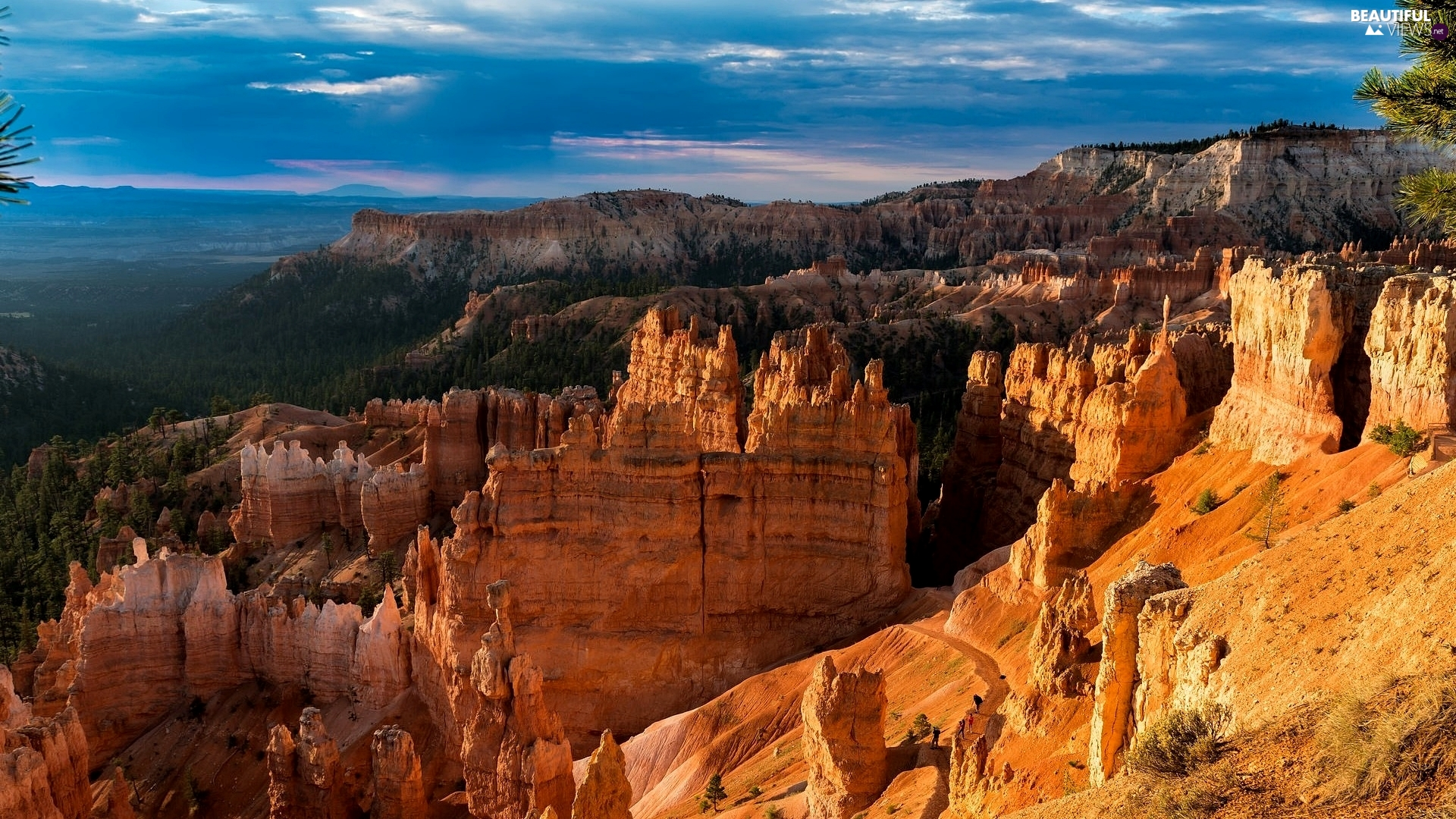 canyon, rocks, Utah State, The United States, Bryce Canyon National Park